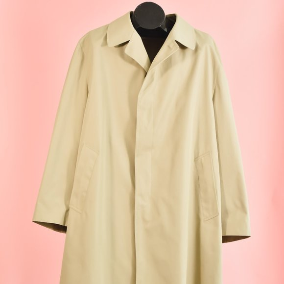 Vintage Taupe London Fog Classic Trench Coat